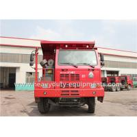 Buy cheap 50 ton 6x4 dump truck / tipper dump truck with 14.00R25 tyre for congo mining area product
