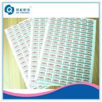 Buy cheap Print Sticker Paper A4 Self Adhesive Labels With Various Materials product