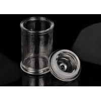 Buy cheap Eco Friendly Glass Jar Candle Holders Replacement Shock Resistant product