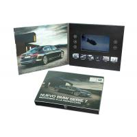 China Print Your Artwork LCD Video Brochure Video Greeting Card with Memory of 128MB to 8GB to Play Your Videos wholesale