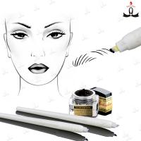 China Disposable Manual Tattoo Pen With #7 #12 #14 #17 #18U Blade For 3D Embroidery wholesale