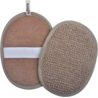 Buy cheap Natural Body Washer Scrubby Pads Ramie Exfoliating Scrub Pads Shower Body Scrubber product