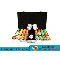 Buy cheap Texas Poker Chip Set / 11.5g Clay Casino Chip With Aluminum Case product