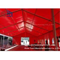 Buy cheap Red Aluminum Truss Roof Systems , Beautiful Dj Lighting Truss Systems product