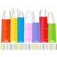Quality fashion popular cartoon red plastic shopping bag for sale