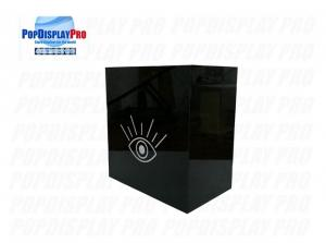 Buy cheap Eye Lash Makeup Products Plastic/Acrylic Display Silk Screen Printed White with Design Service Provided product