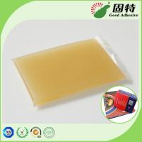 Buy cheap Gelatin resin Amber color Block solid Strongest Wood Solid Animal Jelly Glue Light Amber Color High Solid Content product