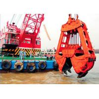 Buy cheap 10m3 Clamshell River Sand Dredging Machine With Electromagnetic Brake 15~23.5m Working Redius from wholesalers