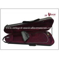 Buy cheap Fibre Glass Lightweight Violin Case For Textile Edge Interior With Nice Velvet product