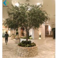 Buy cheap Christmas Artificial Weeping Willow For Landscape Decoration Fiberglass Material product