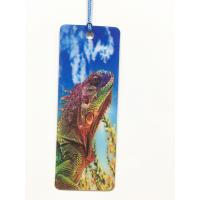 Buy cheap Cartoon 3D Lenticular Bookmark , Custom Bookmark With Tassel Animal Style from wholesalers