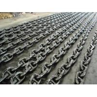 Buy cheap Professional Black Painted Boat Anchor Chain U3 Grade 27.5M / Length product