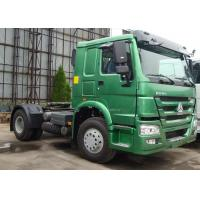"HOWO 4x2 Prime Mover , 371HP 30T Automatic Tractor Truck 90"" Saddle"