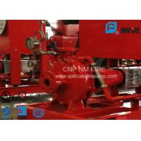 Buy cheap Ductile Cast Iron End Suction Fire Pump Centrifugal With Motor / Magnetic Drive product