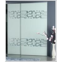 Buy cheap CY-ZG1102A Aluminum Sliding Closet Door For Bedroom, White Waterproof Glass from wholesalers