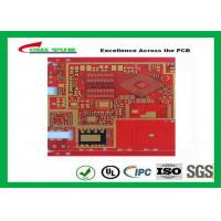 Buy cheap Multilayer Pcb Manufacturing Impandence Control Circuit Board Pcb Layout Red Colour product