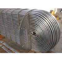 Buy cheap Water Cooled Evaporator Stainless Steel U Tube Heat Exchange Pipe For Refrigeration product