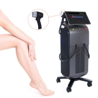 Buy cheap Stationary Anybeauty SFDA 808nm Diode Laser Hair Removal Machine from wholesalers