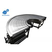Buy cheap Wear Resistance 180 Degree Belt Conveyor , Stainless Steel Belt Chain Conveyor product