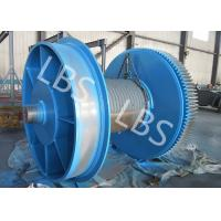 Buy cheap Fully Machined Wire Rope Winch Drum With Lebus Sleeves / Oilfield Drums product