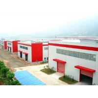 China Portal Frame Commercial Steel Buildings / Prefab Metal Buildings For Warehouse / Workshop on sale