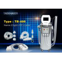 China E-light IPL Hair Depilation RF Wrinkle Removal ND Yag Laser Tattoo Removal Device 4 in 1 wholesale