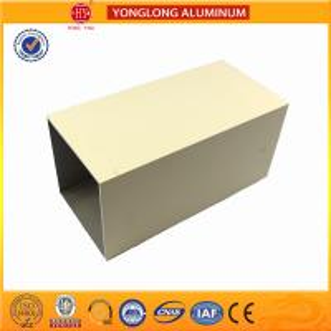 Quality Powder Coated Aluminium Kitchen Profile Black / White For Decoration for sale