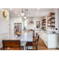 Buy cheap High Quality Australia Modern White Kitchen Pantry Cupboards Kitchen Cabinets product