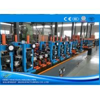 Buy cheap High Precision Stainless Tube Mills , High Speed ERW Tube Mill ISO9001 product