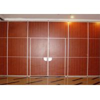 China Operable Restaurant Partition Walls Room Divider Wall Precise Welding Hall on sale