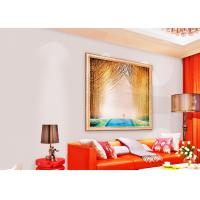 Buy cheap Sound Absorbing Non Woven Wallpaper / Modern Pink Wallpaper For Home , 0.53*10m product