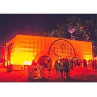 Buy cheap Cube Inflatable Buildings with Light for Outdoor Party Event from wholesalers