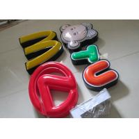 Buy cheap Illuminated Channel Letters Metal Returns With Formed Face / Outdoor Signage product
