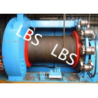 Buy cheap Lebus Grooves Offshore Winch Oil Well Drilling Rig Parts Winch With Brake Disc product