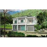 Buy cheap Prefabricated Rural Villa With Light Steel Frame , Quick Assemble Prefab Modular Housing product
