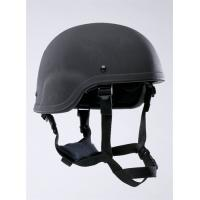 Buy cheap OEM / ODM black Anti-riot bullet proof helmet with shield for security product