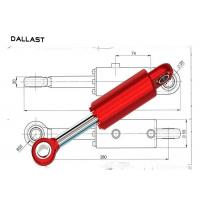 Buy cheap Double Acting Tie Rod Hydraulic Cylinder Tractor Loader Mini Push Pull product