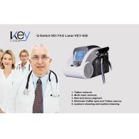 Buy cheap Mini Q-Switched ND YAG Laser Beauty Salon Equipment  Facial Pigmentation Removal product