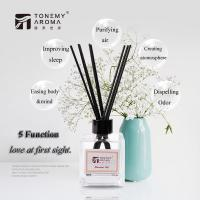 Buy cheap Decorative Room Office Natural Reed Diffuser 120ml With Rattan Reed Sticks product