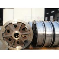 Buy cheap International standard single or double flange forged steel crane rail wheel for girder crane product