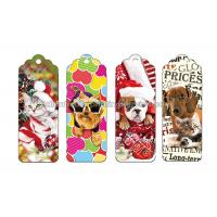 Buy cheap Reading Lenticular Personalized 3d Bookmarks For Kids To Print 3d Animal Bookmarks product