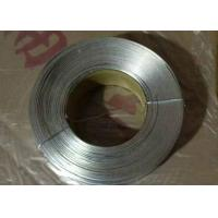 Buy cheap No - Joint Galvanized Flat Wire Anti Corrosion With Low Carbon Steel Q195 product