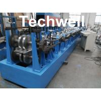 Buy cheap Single Side Adjustable Interchangeable Z Purlin Roll Forming Machine product