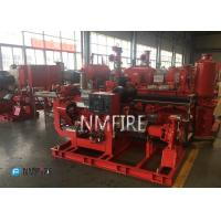 Buy cheap Fire Fighting End Suction Fire Pump , Diesel Engine Fire Pump 500 Gpm@111psi product