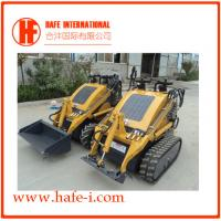 Buy cheap Durable   Mini skid steer loader SSL-C300A USA Briggs&Stratton engine(23hp), bucket 0.15m3, track with bucket,with quick product