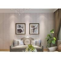 Buy cheap Removable Embossed Home Wallpaper / Interior Wallpaper With PVC Materials product