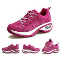 Buy cheap Fashion Outdoor Running Shoes Womens , Air Cushioned Walking Shoes For High Arches product