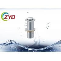 Buy cheap 304 SS Pop Up Sink Drain Pipe Without Overflow Hole Brass Filter Net product