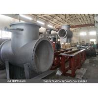Buy cheap T type rough ss water strainer filter/pipeline water filter product