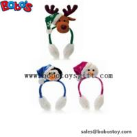 Buy cheap Fashion Design Plush Animal Xmas Ear Muff Be Christmas Decorate product
